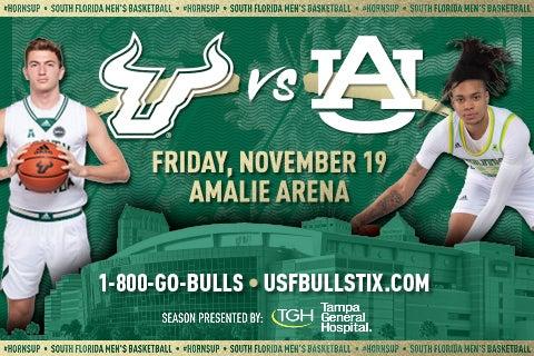 More Info for USF Men's Basketball vs. Auburn