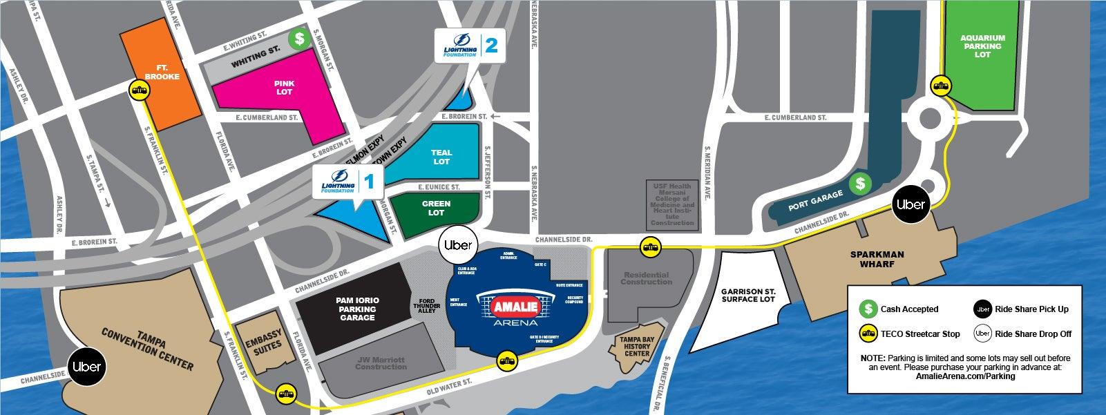 Parking | Amalie Arena