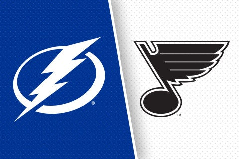 More Info for Tampa Bay Lightning vs. St. Louis Blues