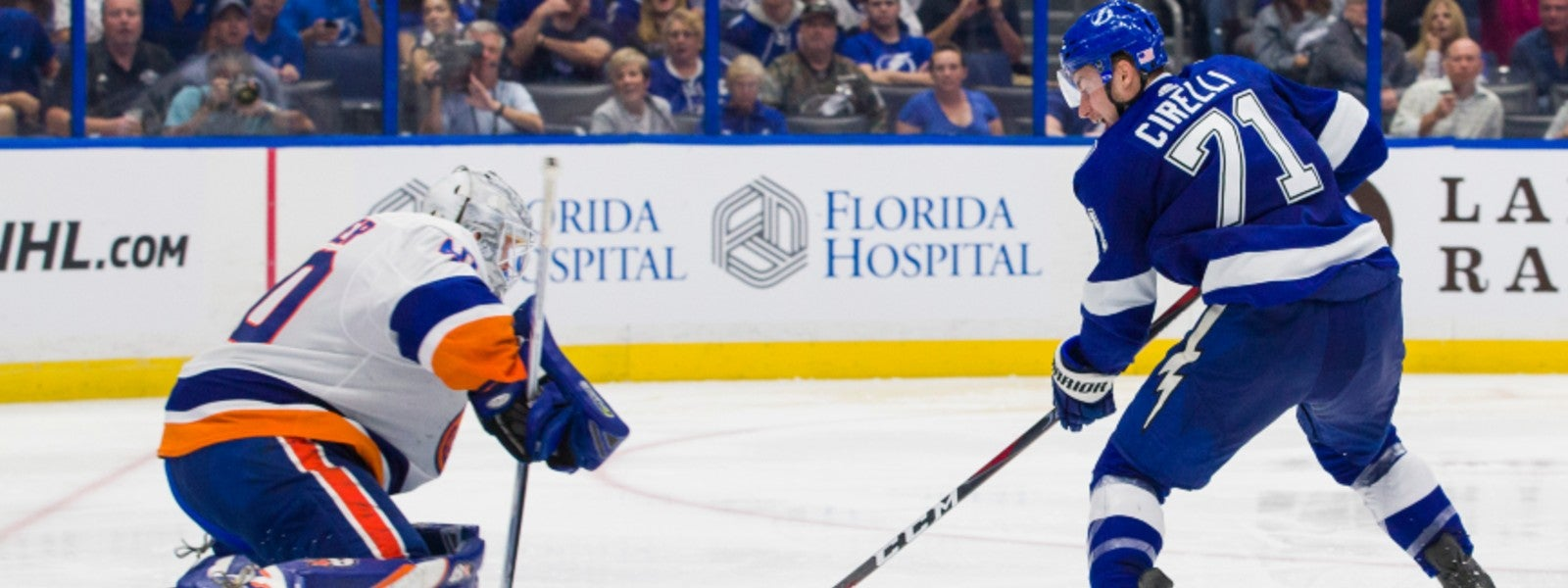 Tampa Bay Lightning vs. New York Islanders