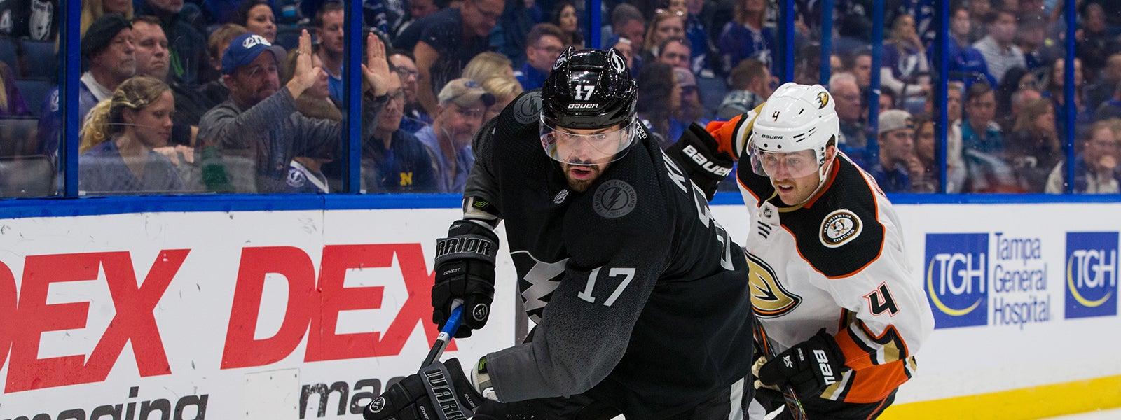 Tampa Bay Lightning vs. Anaheim Ducks